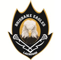 Brisbane Eagles Lacrosse Association Logo