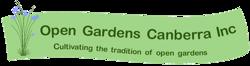 Open Gardens Canberra Logo