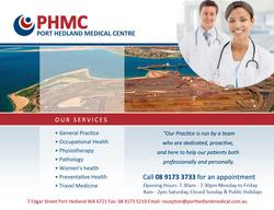 Port Hedland Medical Centre Logo