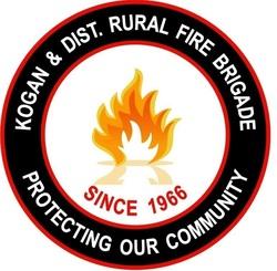 Kogan & District Rural Fire Brigade Logo