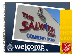 The Salvation Army Albany  Logo