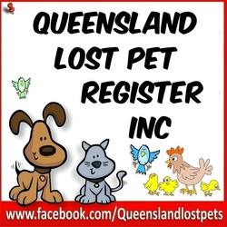 QUEENSLAND LOST PET REGISTER INC  Logo