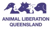 ANIMAL LIBERATION QUEENSLAND LTD - Annerley Logo