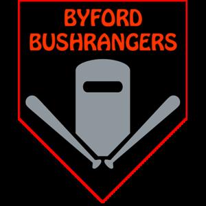 Byford Bushrangers - Teeball, Baseball & Softball Logo