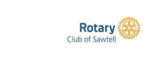 Rotary Club Of Sawtell Inc  Logo