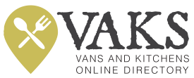 VAKS: Vans And KitchenS Logo