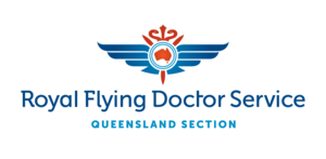 Royal Flying Doctor Service (Queensland Section) - Longreach Base Logo