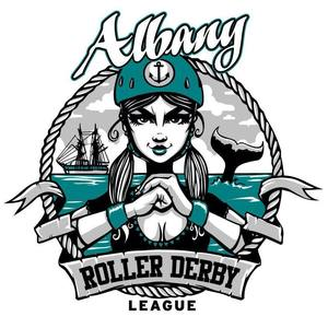 Albany Roller Derby League Logo