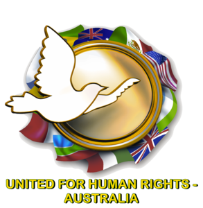United For Human Rights - Australia Logo