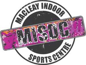Macleay Indoor Sports and Development Logo