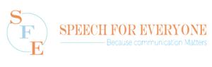 Speech for Everyone Logo