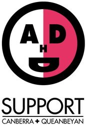 Attention Deficit Disorder Support Group Inc Canberra/Queanbeyan Logo