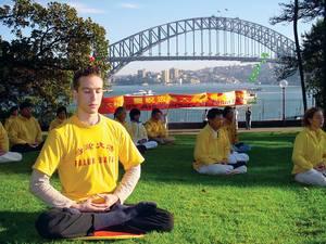 Australia Falun Dafa Logo