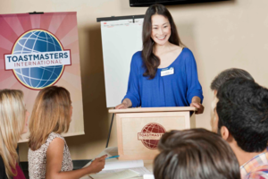 Canberra Ainslie Toastmasters Logo