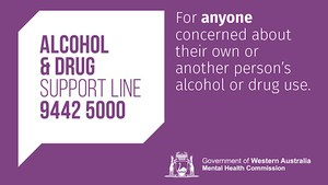 24hr Alcohol and Drug Support Line Logo