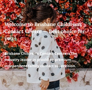Brisbane Children's Contact Centre Logo