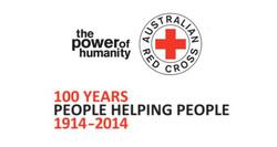Woolgoolga Red Cross Branch — Hands On Service Logo