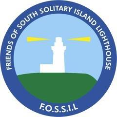 Friends of South Solitary Island Lighthouse (FOSSIL) Logo