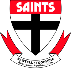 Sawtell/Toormina Saints AFL Club - SNR Logo