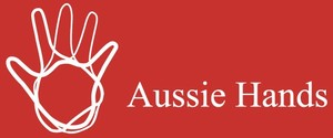 The Aussie Hands Foundation Inc Logo