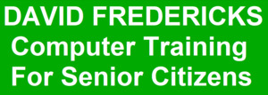 David Fredericks Computer Training For Senior Citizens Logo