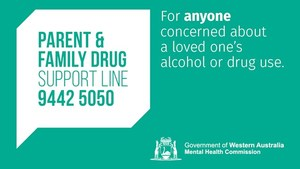 24hr Parent and Family Drug Support Line Logo