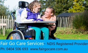 Fair Go care Services Logo