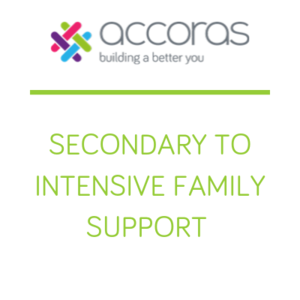 Secondary to Intensive Family Support Logo