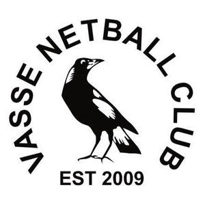 Vasse Magpies Netball Club - Busselton Logo