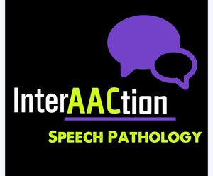 InterAACtion Speech Pathology Logo