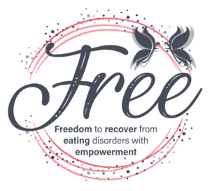 Freedom To Recover From Eating Disorders With Empowerment (F.R.E.E.) Logo