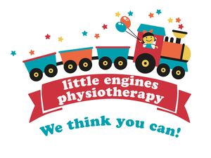 Little Engines Physiotherapy Logo